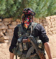 Kurdish YPG Fighter by Kurdishstruggle http://flic.kr/p/BLNPCc