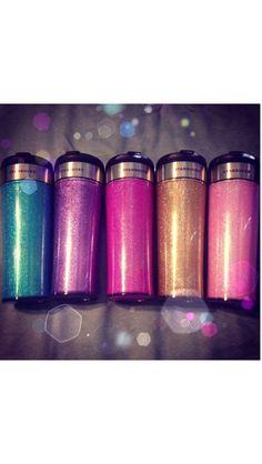 Glitter Starbucks tumbler