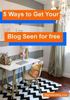 5 Ways to Get Your Blog Seen for free