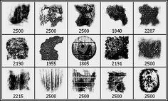 Arbenting15 Grunge Texture Photoshop Brushes - Arbenting