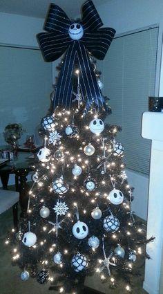 Jack Skellington tree  #christmas #NBC #Nightmare