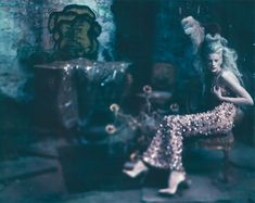 Kristen McMenamy, was photographed by Paolo Roversi for the Unique supplement of the recent Vogue Italia Sepetmber 2010 issue.