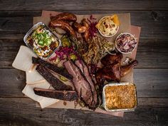 """141 Likes, 3 Comments - Smoke Signals Bar-B-Q (@smokesignalsbarbecue) on Instagram: """"BBQ centrefold shot showing y'all how it's done! All this plus beef ribs and yams on special…"""""""