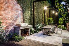 Josh Norman, Hardwood Decking, Steel Pergola, Landscape Design, Building A House, Lawn, Patio, Decorating, Mini