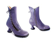 John Fluevog Mini Lover in Lilac | by Nadowawoman