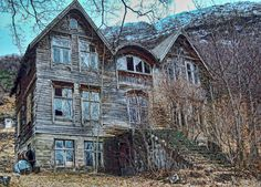Creepy Abandoned House