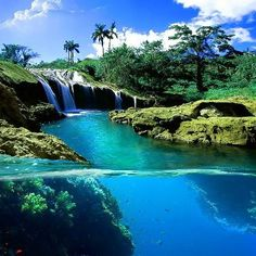 Split View Waterfall, Hawaii 36 Incredible Places That Nature Has Created For Your Eyes Only Dream Vacations, Vacation Spots, Vacation Travel, Disney Travel, Cruise Vacation, Vacation Rentals, Summer Travel, Places To Travel, Places To See