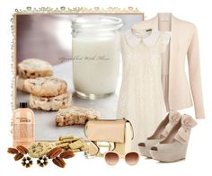 """""""pecans in a ONE picture background."""" by melissa-chung-pnklmnade ❤ liked on Polyvore featuring Curio, Kaliko, Tenki, Miss Selfridge, Walkers, Reed Krakoff, philosophy, Harrods, Tarina Tarantino and Chanel"""