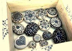 Steine bemalen - eine leichte Technik und 29 Inspirationsbilder f�r Anf�nger