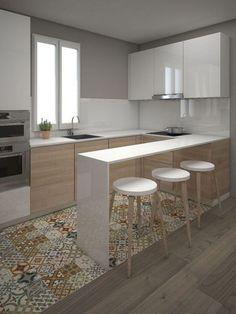 Gorgeous Small Kitchen Design Ideas 24