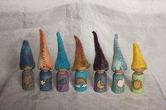Weather gnomes... how cute are these?! @Carly Ann You need these for your class morning meetings !
