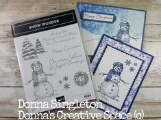 Snow Wonder, Stampin Up! Christmas Wishes, Christmas Cards, Stampin Up, Paper Crafts, Joy, Personalized Items, Space, Creative, Xmas Greeting Cards