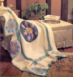 This Medallion Crochet Afghan is STUNNING! If you need a free crochet afghan pattern that's unique and has a vintage touch, then you definitely want to check this one out!