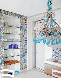 Something to do with that tile collection from Elle Decor Italia.