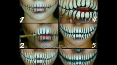 Great step by step on how to create teeth