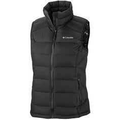 Columbia Sportswear Powerfly Omni-Heat® Down Vest (For Women) in Black