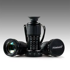 Filmtools® Mini Director's Viewfinder - 11x Telescoping