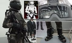 "#DailyMailUK .... ""A model soldier standing more than six-feet tall wore the suit at its unveiling in Moscow on Thursday while cradling a fearsome-looking firearm in a pair of black padded gloves."".... http://www.dailymail.co.uk/news/article-4653886/Russia-unveils-generation-Star-Wars-combat-uniform.html"