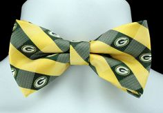 Green Bay Packers Tie Packers Neckties Mens Licensed Football Neck Ties NWT