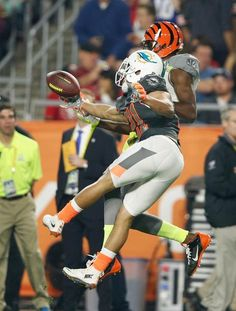 A.J. Green and Brent Grimes : NFL Pro Bowl