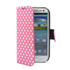 PhoneAdventures Flip Polka Dots Leather Case for AT&T, Verizon, Sprint, T-mobile Samsung Galaxy S3 - Pink, http://www.amazon.com/dp/B008BAUKSI/ref=cm_sw_r_pi_awdm_1fLztb0D67PA9