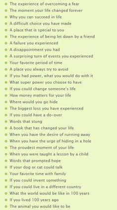 Intriguing Essay Topics