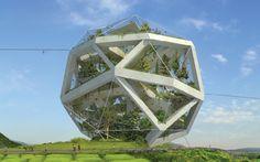 Dochodo Sustainable Zoological Island   JDS Architects