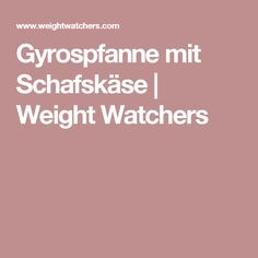 Gyrospfanne mit Schafskäse | Weight Watchers
