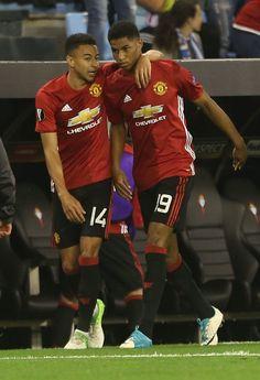 "Lingard: Rashford has been ""amazing"" - Official Manchester United Website Official Manchester United Website, Manchester United Players, Soccer Boys, Football Boys, Man Utd Fc, Jesse Lingard, Man Utd News, Marcus Rashford, Football Pictures"