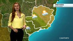 Previsão Sudeste - Frente fria provoca chuva