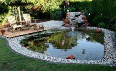 Gartenteich | Unser Gartenteich Foto & Bild | Natur, Landschaft, See, Teich ...
