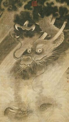 Ch'en Jung (ca. 1200-1266). Chinese painter that excelled at painting dragons.