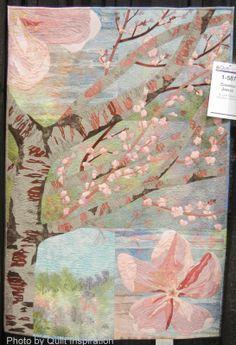 "It's Cherry Blossom time! Cherries Jubilee, 35 x 51"", by B. Lynn Tubbe,  Georgetown, California"