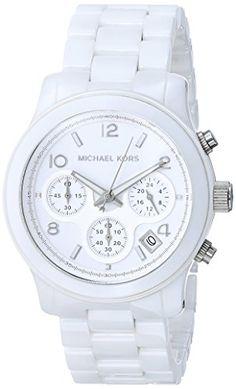 Michael Kors Ceramic White Watch MK5161 Michael Kors http://www.amazon.com/dp/B002IVTFDW/ref=cm_sw_r_pi_dp_QT.lvb1TME4F7