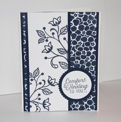 Stamped Sophisticates: Floral Boutique with Flourishing Phrases