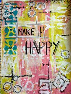 Make it happy =D