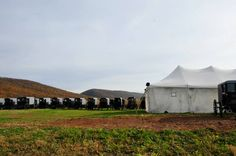 Amish Wedding in PA  This one is Held in a Tent~ Sarah's Country Kitchen ~