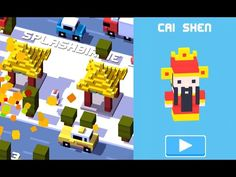 Unlock Cai Shen Secret Character | Crossy Road iOS App Chinese New Year - http://mobileappshandy.com/app-development/app/unlock-cai-shen-secret-character-crossy-road-ios-app-chinese-new-year/