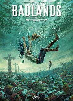 Badlands -2- Le danseur au grizzli   Une BD de Corbeyran, Éric et Kowalski, Piotr chez Soleil Productions - 2016