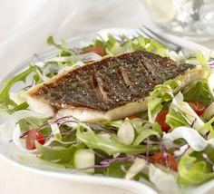 crispy skin Louisiana Drumfish salad - Louisiana Seafood