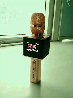 very cool microphone for sing songs kalaok ktv or party wedding i love it what about u
