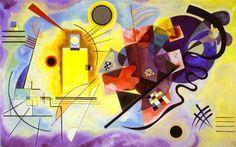 """Yellow-Red-Blue, 1925, oil on canvas, Musée National d'Art Moderne, Centre Georges Pompidou, Paris, France  """"Cosa ci vedi tu in questo quadro? Io una faccia, io un corpo, io una vita, io un bel cazzo. È un tutto che in realtá è niente, ma nel suo nichilismo esplode"""""""
