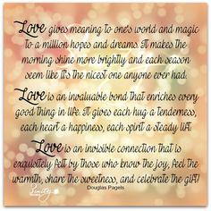 Love is...  #wuvip #love #positivevibes #inspirational