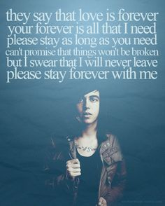 Kellin Quinn is my hero.  Sleeping With Sirens always cheers me up when I'm feeling a little blue.  I'm not a stupid fangirl, I don't just like SWS because I find him attractive. I love SWS because ALL of the members make some of the most beautiful music I've heard. I respect them, I respect their music, their lyrics speak to me, and I will always be a fan.