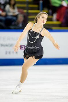 Veronik Mallet (CAN) - 2014 Skate Canada LP © Danielle Earl