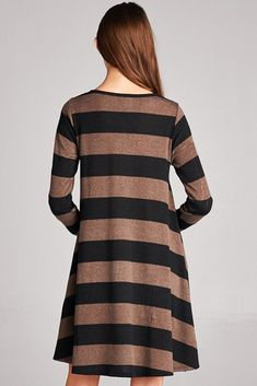 Bellamie Womens Striped Hacci Shift Dress Medium -- Click image for more details. (This is an affiliate link) #CasualDresses