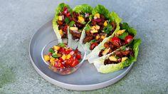 Klassisk taco i salatblader