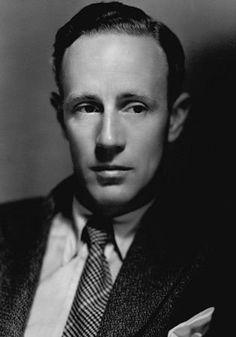 Leslie Howard... saw him in Pygmalion(1938) I loved him in it.