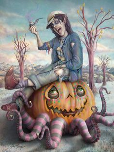 Pop surrealism, surrealism, lowbrow art, new contemporary art: Interview with artist Jim McKenzie - 2.part