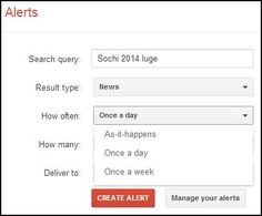 How to: Set up Google Alerts
